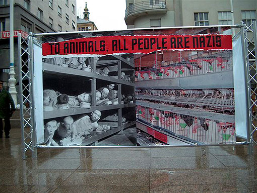 Animals All People are Nazis, Animal Rights Activists